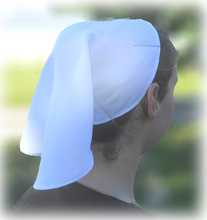 Christian woman's head covering